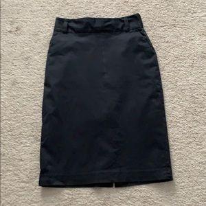 Banana Republic fully lined tube skirt 6